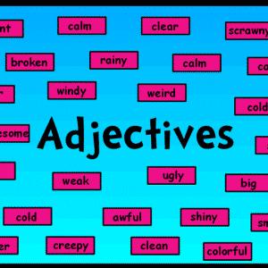 Adjective-7