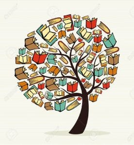 20633246-Global-education-concept-tree-made-with-books-file-layered-for-easy-manipulation-and-custom-coloring-Stock-Vector