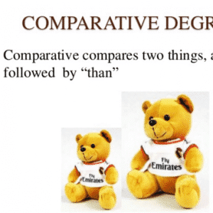 Comparative Degree