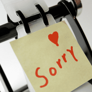 Expressing Apology