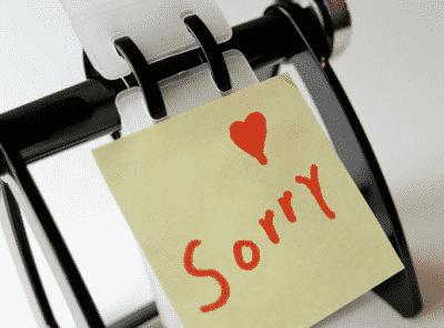 Expressing Apology