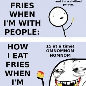 How-I-Eat-Fries-In-Reality-Funny-Comic-Picture-