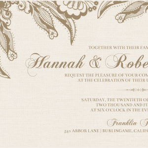 Contoh Functional Text Invitation (undangan)