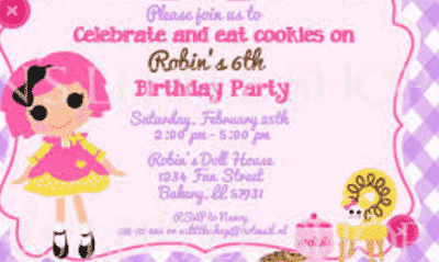 Making Invitation
