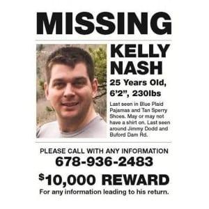 contoh Missing person announcement