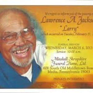 contoh Obituaries announcement