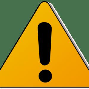 contoh caution 2