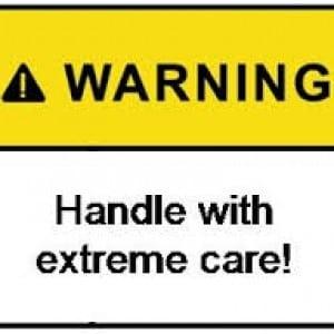 contoh warning 1