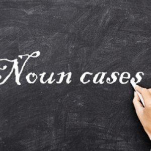 Noun-Cases