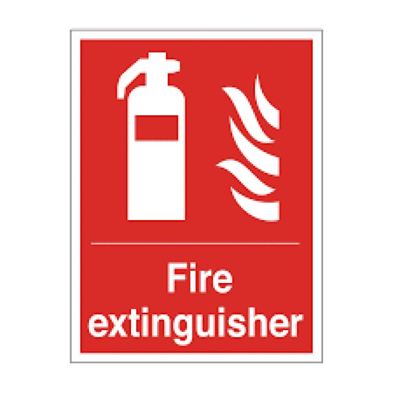 Fire Extinguisher Sign  Public domain vectors