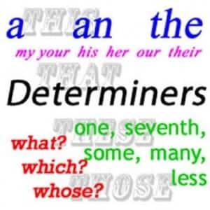 Determiner: Pengertian , Fungsi, Jenis, Dan Contoh Kalimat Dalam Bahasa Inggris