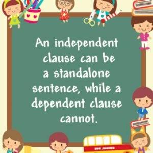 independent-dependent