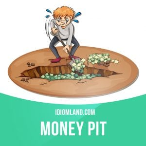Money idiom