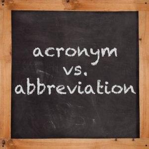 acronym&abbreviation