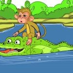monkey-crocodile