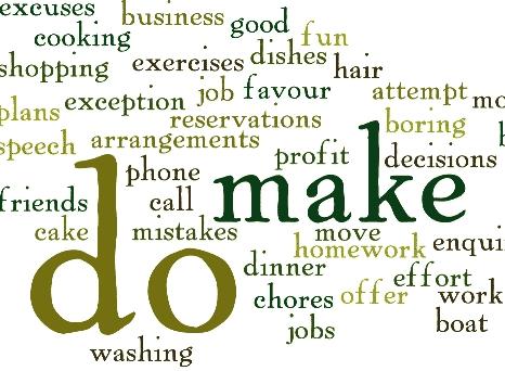 Perbedaan Penggunaan Kata 'Do' Dan 'Make' Dan Contohnya
