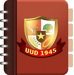 Contoh Isi Teks UUD (Undang-Undang Dasar) Dalam Bahasa Inggris Beserta Arti