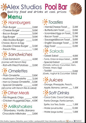 Contoh Daftar Menu Makanan Di Restaurant Dalam Bahasa Inggris
