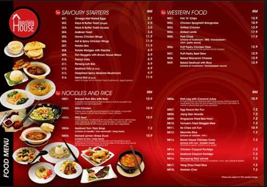 Contoh Daftar Menu Makanan Di Restaurant Dalam Bahasa Inggris 3