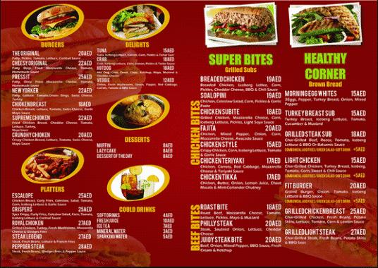 Contoh Daftar Menu Makanan Di Restaurant Dalam Bahasa Inggris 4Contoh Daftar Menu Makanan Di Restaurant Dalam Bahasa Inggris 4