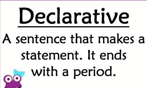 Kalimat Declarative: Pengertian Dan Contohnya Dalam Bahasa Inggris