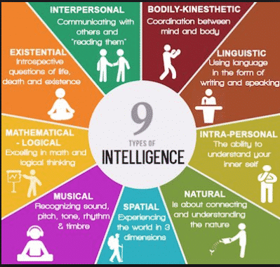 9 Tipe Intelligence ( Kecerdasan ) Dan Penjelasan Lengkap