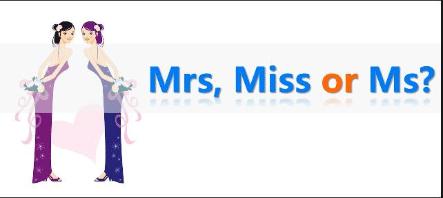 Perbedaan Sapaan Mrs., Miss, Dan Ms. Beserta Contohnya