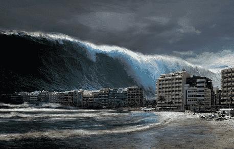 Explanation Text : Proses Terjadinya Tsunami Dalam Bahasa Inggris