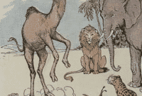 Narrative Text : Cerita Monyet Dan Unta Peniru Dalam Bahasa Inggris Beserta Artinya Lengkap