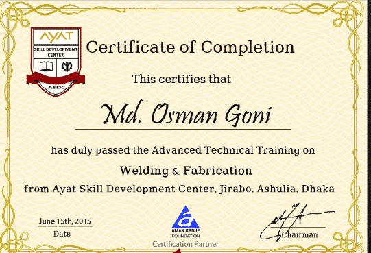 contoh sertifikat