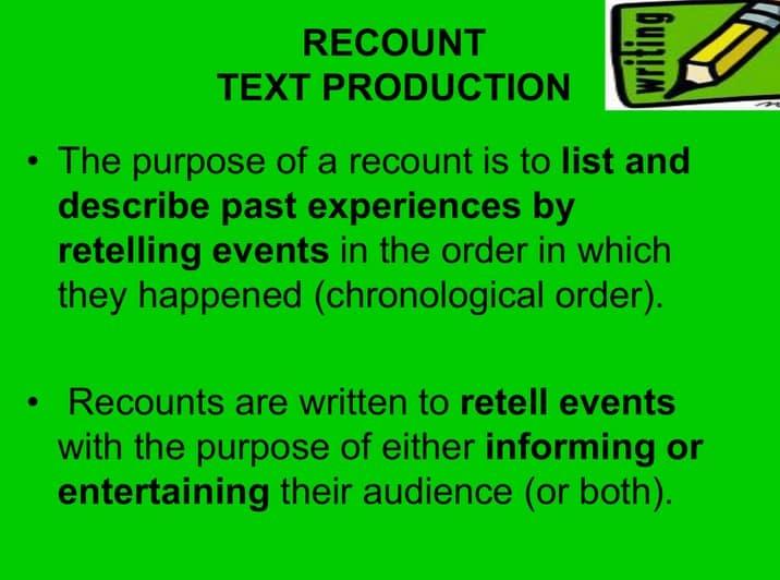 Recount-Text